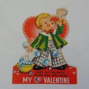 1950's Vintage Valentine - Bubbly